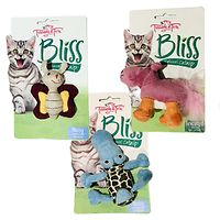 Bliss Cat Toys 3 Pack - Hippo Crocodile Butterfly