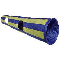 Crinkle Cat Tunnel Blue & Yellow